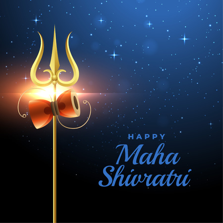 happy maha shivratri festival greeting