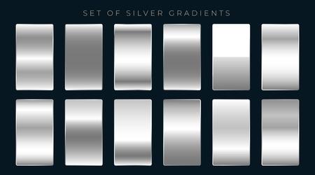 set of silver or platinum gradients