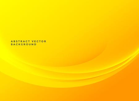 bright yellow elegant wavy background