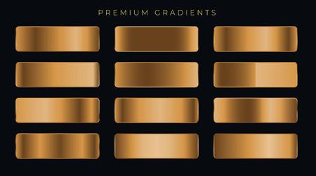 copper metallic premium gradients set