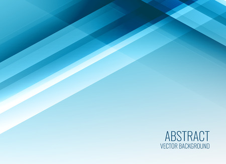 business style blue background template