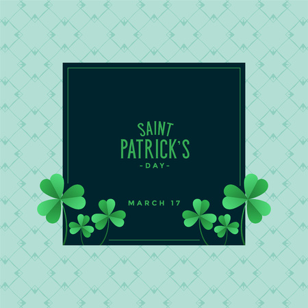 elegant saint patricks day background Illustration