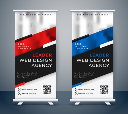 Standee-Design für Ihre Business-Präsentation