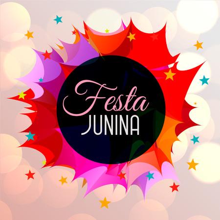 abstract festa junina celebration background