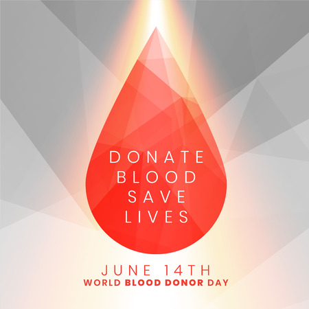 donate blood save lives concept blood drop background