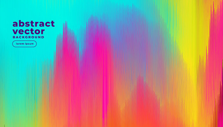 colorful glitch lines abstract background Stock fotó - 124575443