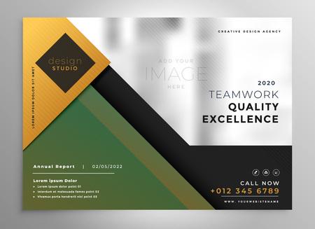 creative brochure presentation design template Векторная Иллюстрация