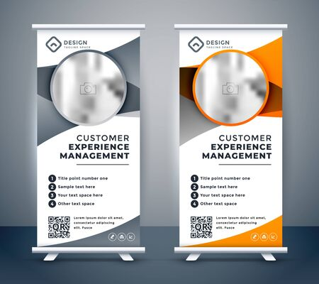 business rollup banners for marketing