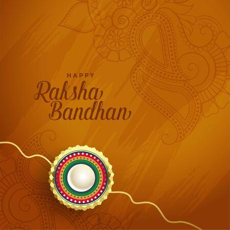 beautiful rakha bandhan indian festival background