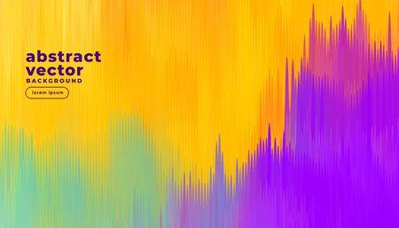 abstract colorful lines background design Ilustración de vector