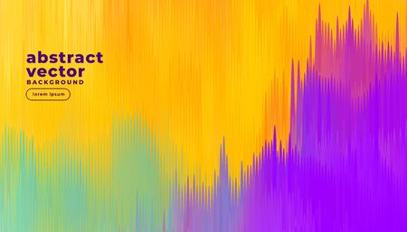 abstract colorful lines background design Vector Illustration
