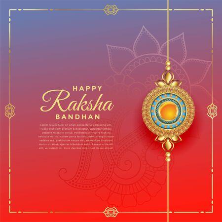 lovely rakshabandhan festival with rakhi decoration