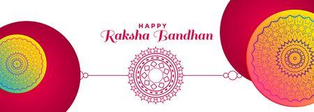 decorative banner design for raksha bandhan festival