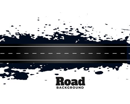 abstract street dirty road pathway background design