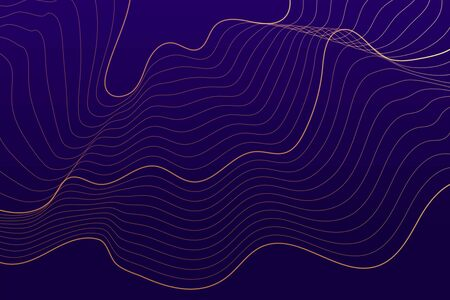 purple background with abstract flowing lines Banque d'images - 129811838