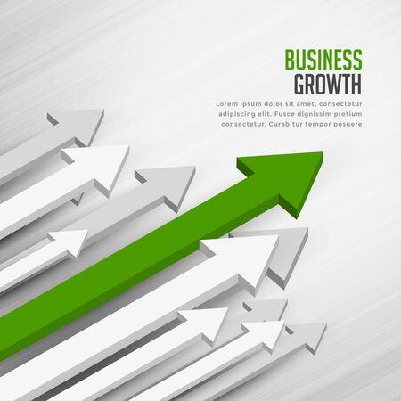 leading moving forward arrow concept background design 向量圖像