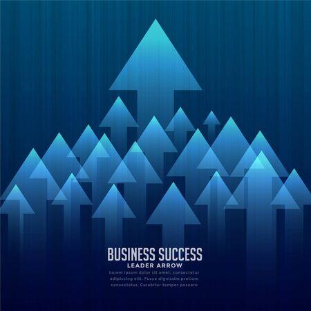 stylish business leader concept background 向量圖像