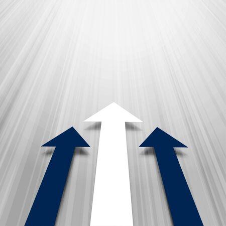 moving forward arrows business concept background design 向量圖像