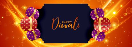 happy diwali festival bomb cracker light background