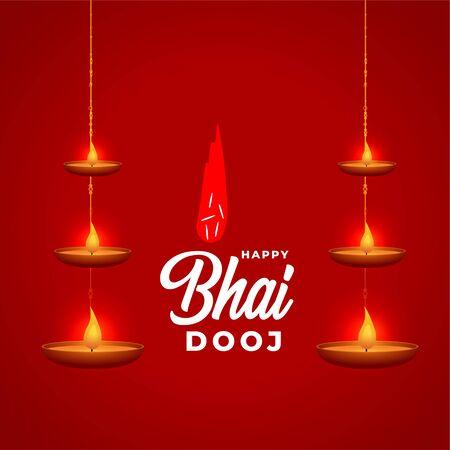 indian style bhai dooj festival celebration background