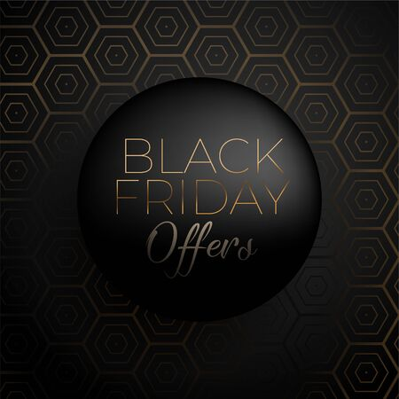 3d style black friday sale and offer background