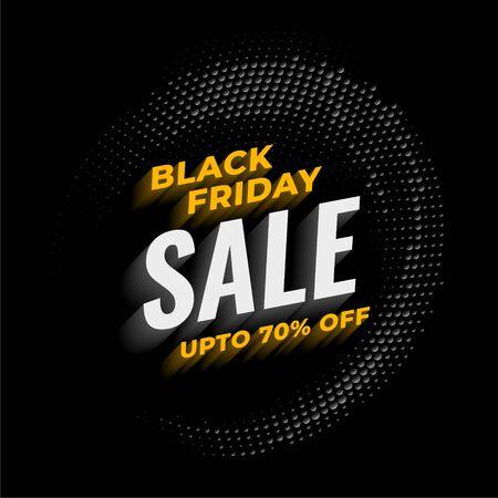 black friday sale background template design