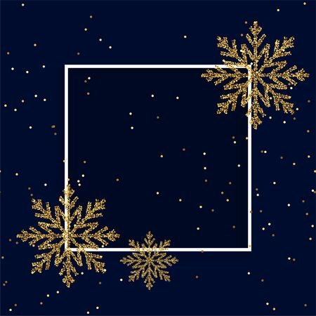 merry christmas festival card with text space