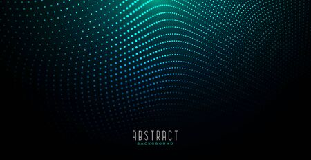 abstract digital particles background with glowing light