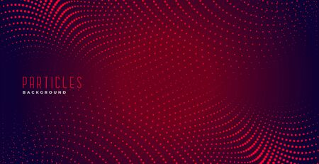 abstract red particles digital dots background design 일러스트