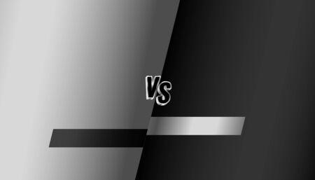 black and grey battle fight versus vs background