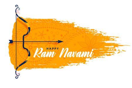 bow and arrow design for ram navami festival