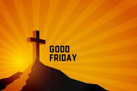 good friday resurrection of jesus christ scene background