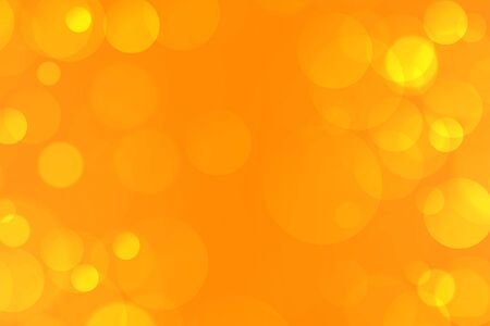 yellow elegant bokeh lights background lovely design