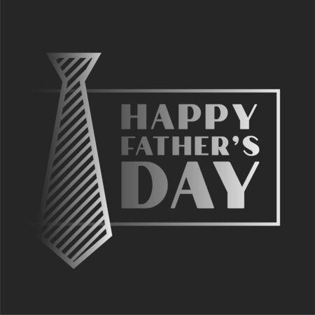 happy fathers day celebration background in dark theme