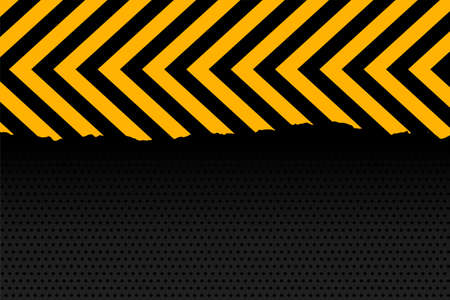 yellow and black arrow stripes background design