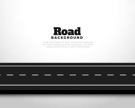 straight horizontal asphalt street road pathway background 向量圖像