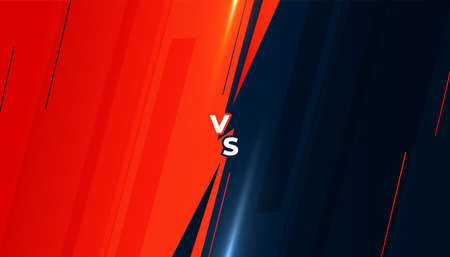 versus vs battle screen background design template