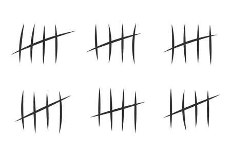 prisin jail marks for days counter