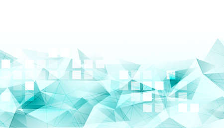 abstract low poly background with mosaic tiles