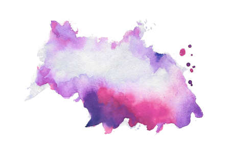 abstract hand painted watercolor texture background design 免版税图像