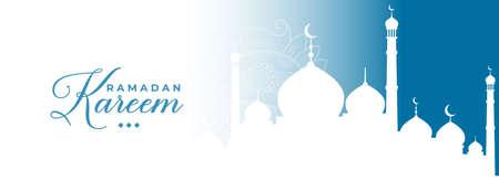 traditional ramadan kareem islamic banner design