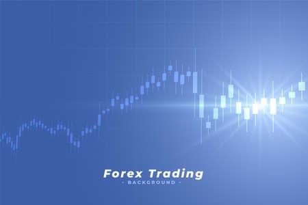 business stock market forex trading background Vektorové ilustrace