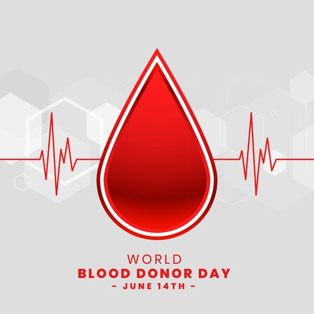 world blood donor day poster design