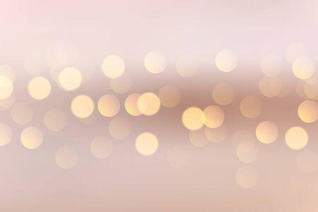 lovely soft background with circular bokeh lights Illusztráció