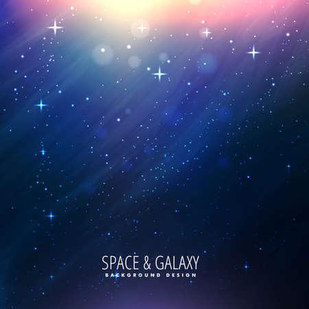 abstract colorful beautiful universe stars galaxy background 일러스트