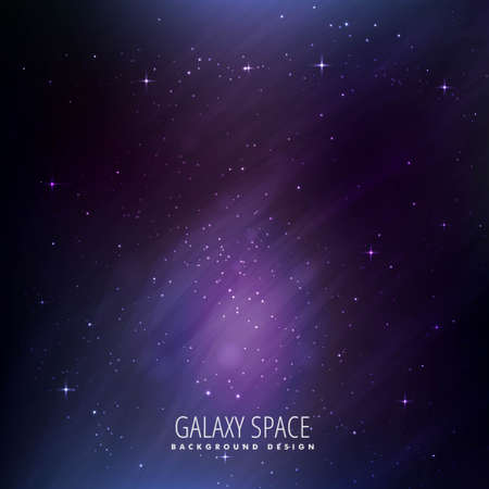 abstract colorful beautiful universe stars galaxy background Vector Illustration