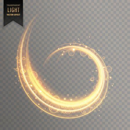transparent light effect vector element design illustration