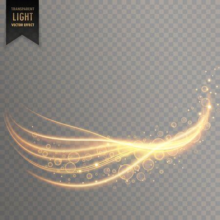 light streak with shimmer effect vector illustration