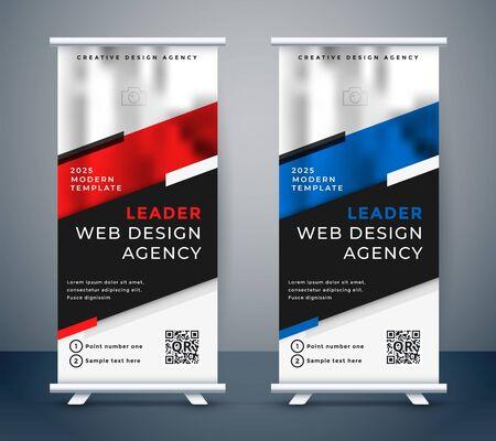 standee design for your business presentation Vektorgrafik