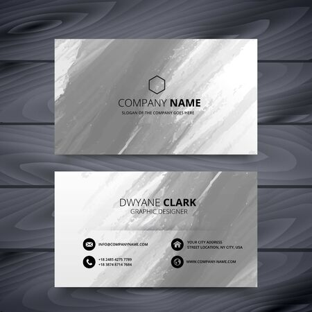 abstract modern business card illustration design template design illustration